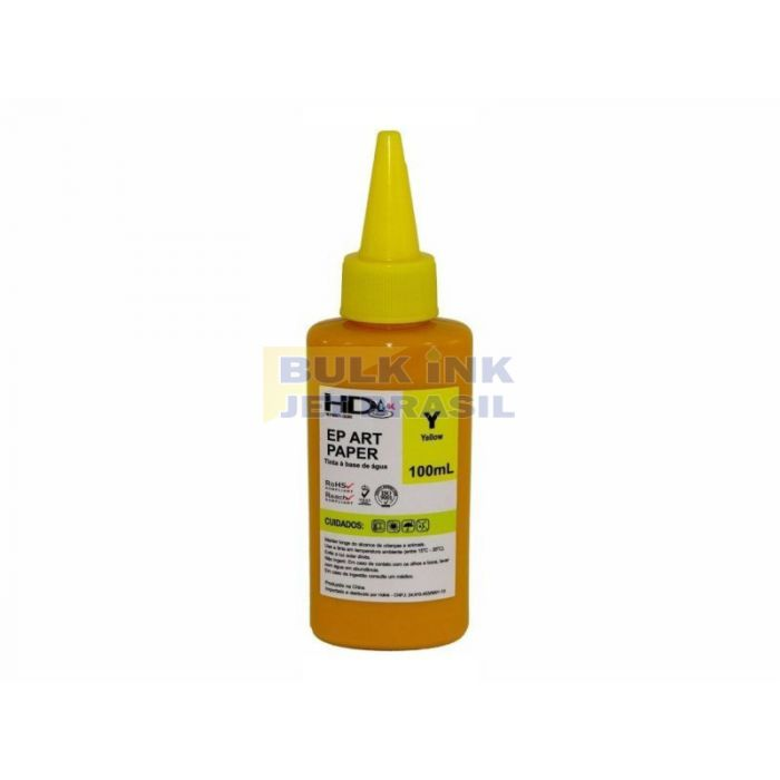 Tinta Art Paper HD Ink [Amarelo 100ml]